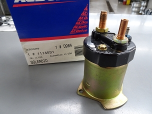 ACDelco/GM Starter Solenoid Switch NOS 1114531, D984 $50.00