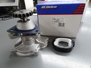 ACDelco Water Pump w/gaskets NOS 12482714, 251-644 $30.00