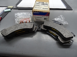ACDELCO FRONT DISC BRAKE PAD SET, NOS, #18024927, 171-573 $50 + SHIPPING