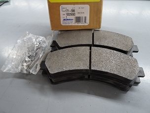 ACDELCO FRONT DISC BRAKE PAD SET, NOS #18029863, 171-596 $50+SHIIPPING
