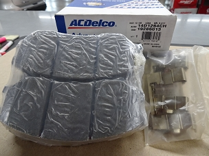 ACDELCO ADVANTAGE CERAMIC FRONT DISC BRAKE PAD SET, NOS, #19286013, 14D1264CH $50 + SHIPPING