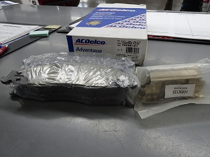 ACDELCO ADVANTAGE CERAMIC FRONT DISC BRAKE PAD SET, NOS, #19286151, 14D921CH $50 + SHIPPING