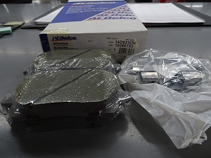 ACDELCO ADVANTAGE CERAMIC FRONT DISC BRAKE PAD SET, NOS, #19286153, 19360258, 14D923CH, 14D923CHF1 $40 + SHIPPING