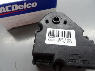 ACDelco HVAC Blend Door Actuator NOS 89018365, 15-72971 $120.00